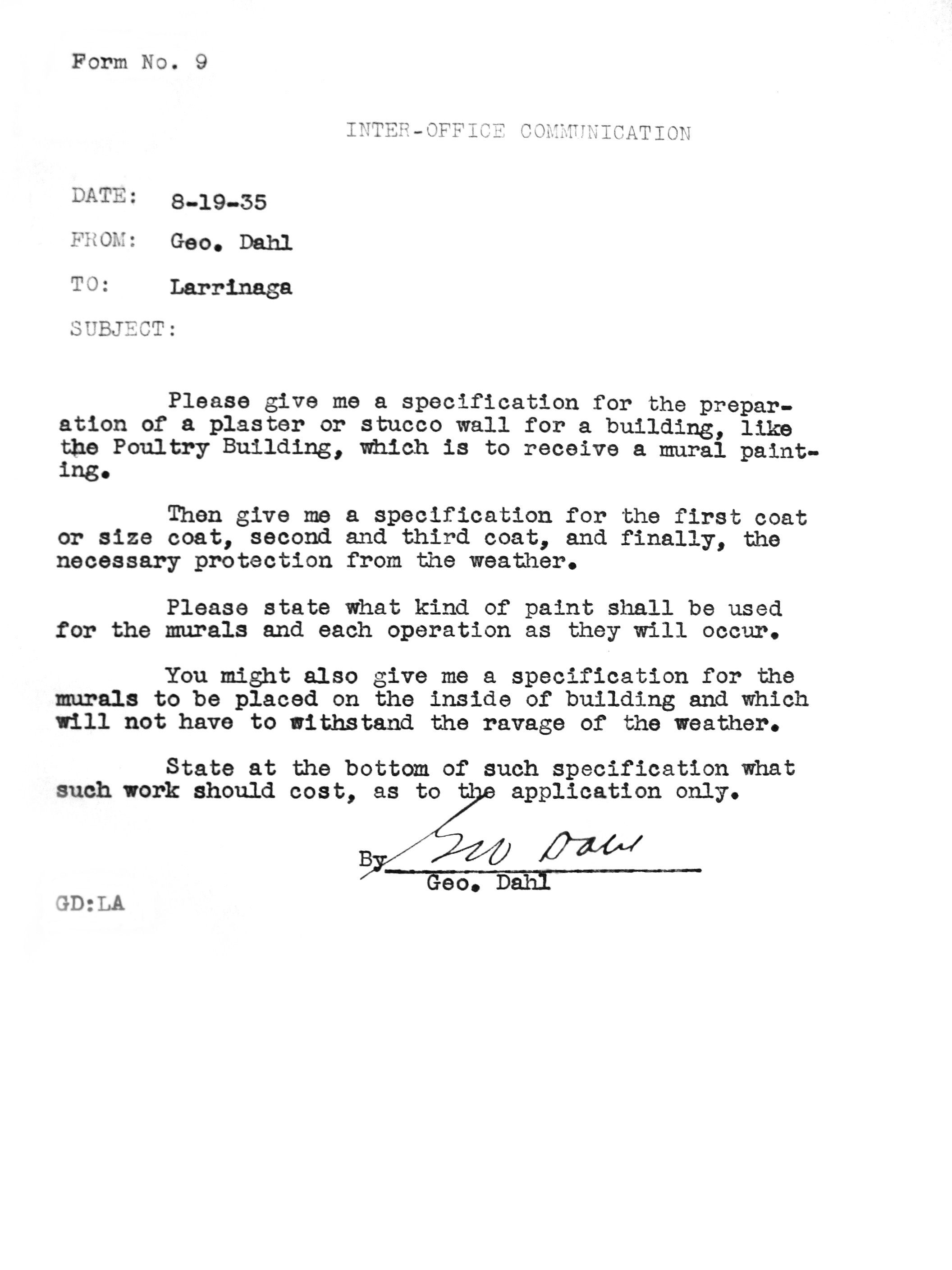 Letter Restored Restored Inter Office Communication ... Pictures Gallery